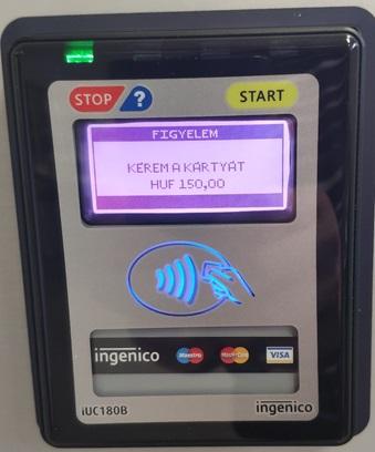 Akadozik a bankkártyás fizetés az automatáinknál