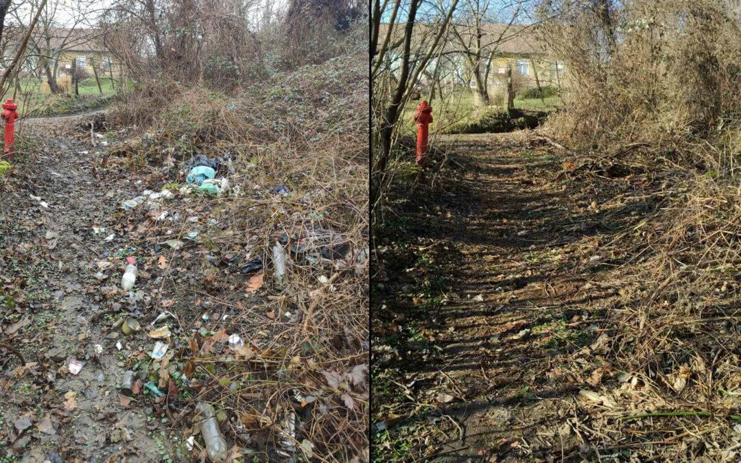 Összefogással számolták fel a Kórház utcai illegális hulladéklerakót