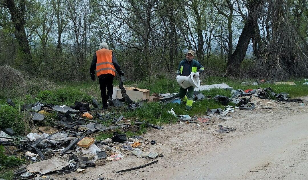 Megkezdődött a romonyai úti illegális lerakó felszámolása